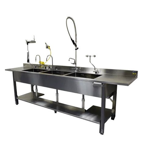 Processing sinks