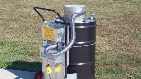 SmartAsh - Cyclonic Barrel Incinerator